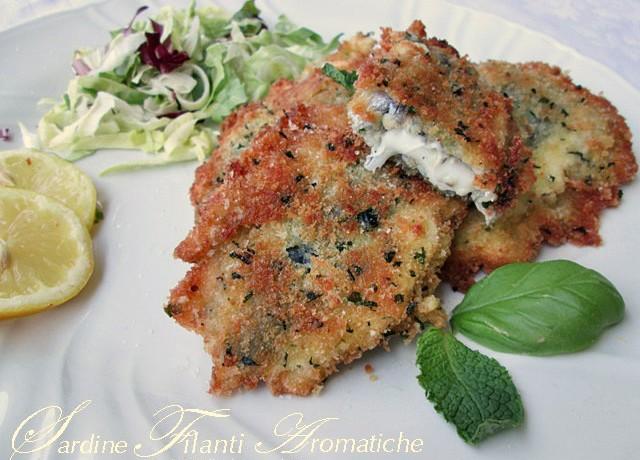 SARDINE FILANTI AROMATICHE Ricetta secondo piatto di pesce