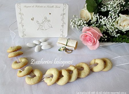 ZUCCHERINI BOLOGNESI ricetta dolce