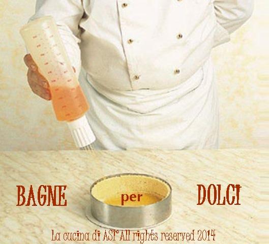 BAGNE E FARCITURE PER DOLCI