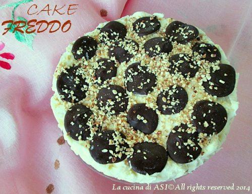CAKE FREDDA  NOCCIOLE E CIOCCOLATO Ricetta dolce