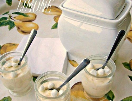CREMA DELICATA al LIMONE Ricetta dolce al cucchiaio