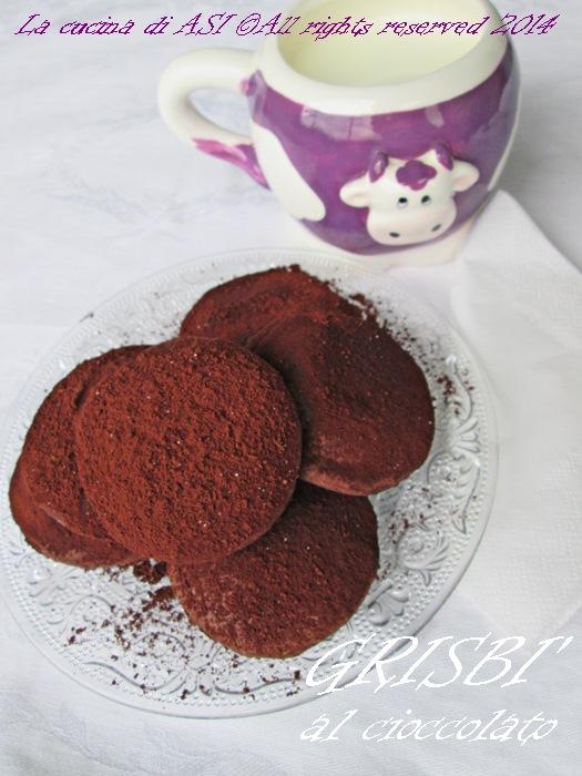 grisbi al cioccolato La cucina di ASI