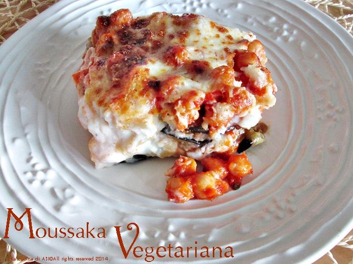 la moussaka vegetariana La cucina di ASI