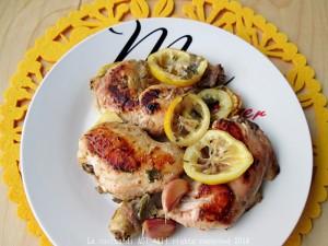 pollo con timo e limone La cucina di ASI