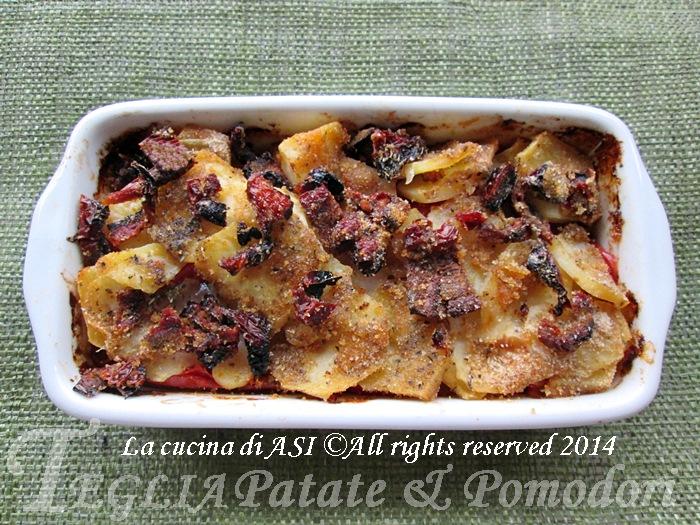 teglia patate e pomodori La cucina di ASI