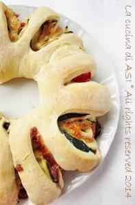 corona di pizza farcita La cucina di ASI
