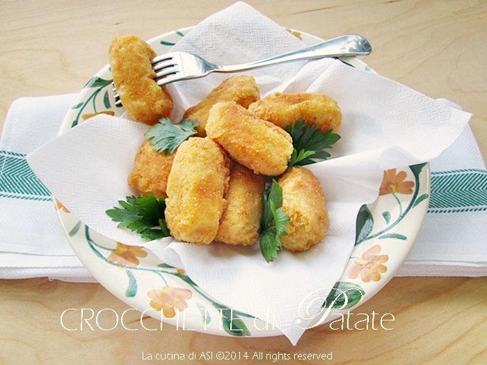 crocchette di patate La cucina di ASI