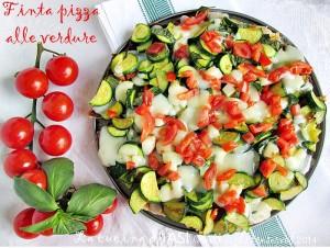 finta pizza alle verdure La cucina di ASI