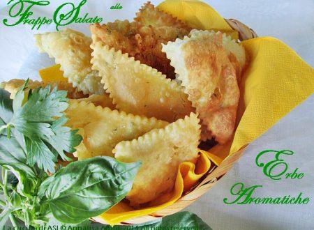 FRAPPE SALATE ALLE ERBE AROMATICHE Ricetta salata