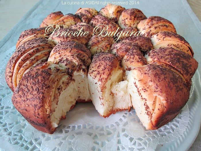 la brioche bulgara La cucina di ASI