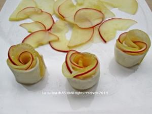 roselline alle mele La cucina di ASI ft 5