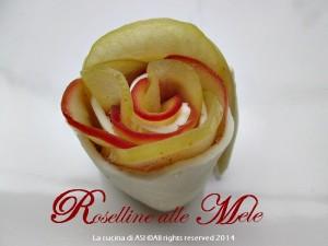 roselline alle mele de La cucina di ASI