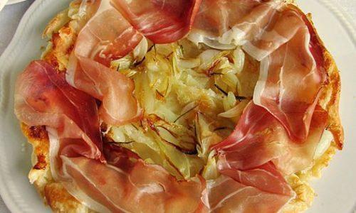 TATIN SALATA DI CIPOLLE E SPECK Ricetta torta salata