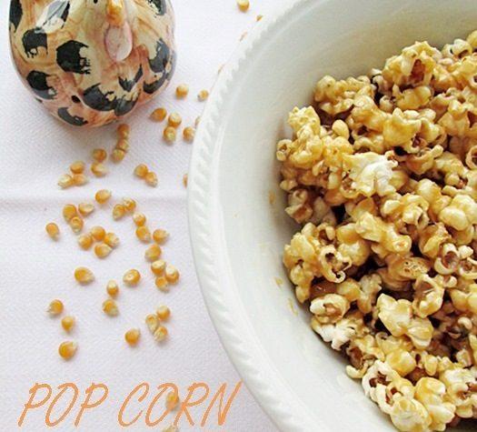 POP CORN CARAMELLATO Ricetta dolce