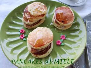 pancakes al miele La cucina di ASI