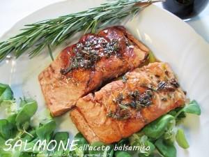 salmone e balsamico La cucina di ASI
