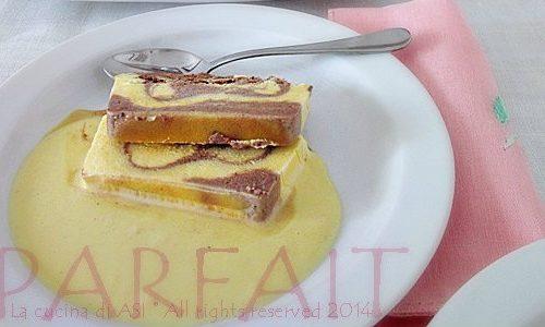 PARFAIT AI DUE CIOCCOLATI Ricetta dolce al cucchiaio