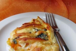 SFOGLIATA ALLA ZUCCA Ricetta torta salata