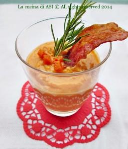 crema di zucca con bacon La cucina di ASI