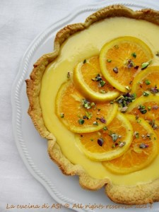 crostata all'arancio
