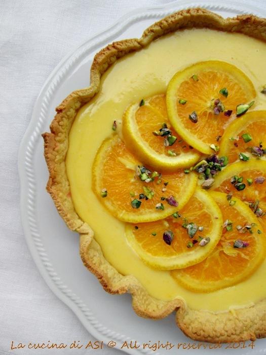 crostata all'arancio La cucina di ASI 2014