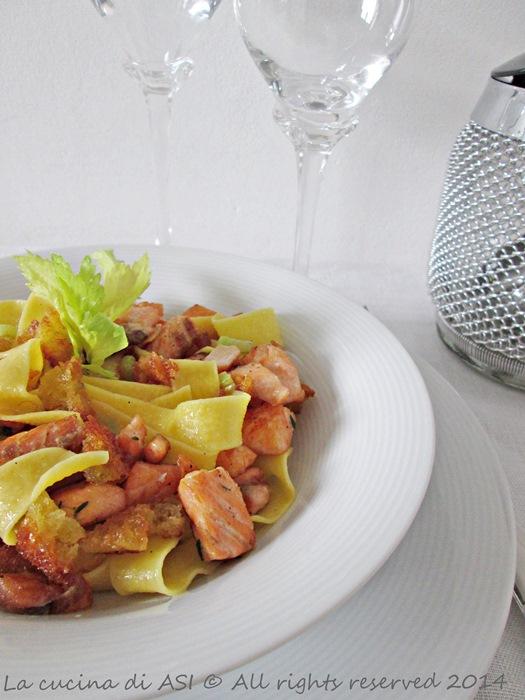 salmone e briciole pastaLa cucina di ASI 2014