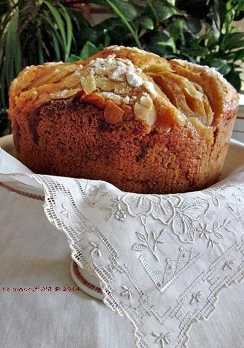 torta alta di mele La cucina di ASI 2014
