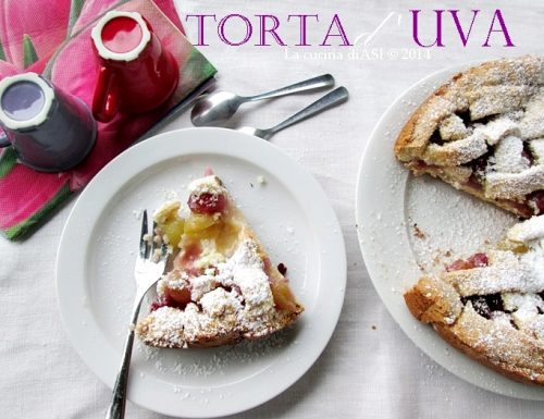 TORTA D'UVA Ricetta dolce
