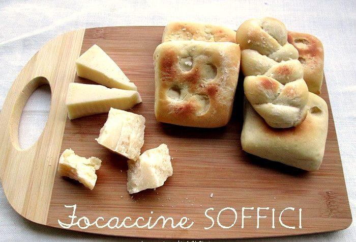 FOCACCINE SOFFICI Ricetta lievitato salato