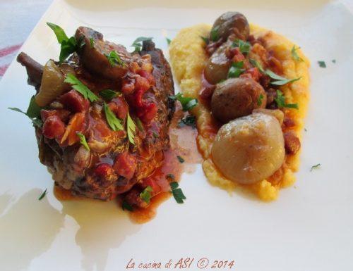 COQ AU VIN Ricetta  piatto di carne