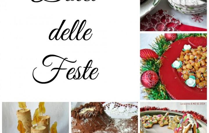 Raccolta I DOLCI DELLE FESTE Ricette dolci