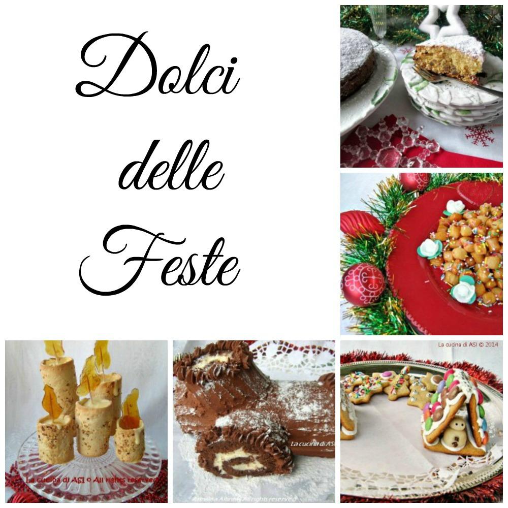 Dolci delle feste raccolta ricette dolci per le festivit for Le ricette italiane