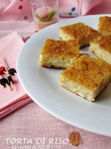 La torta di riso alla bolognese La cucina di ASI © 2014