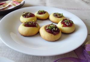 OVIS Mollis con confettura di ciliegie e pistacchi La cucina di ASI © 2014