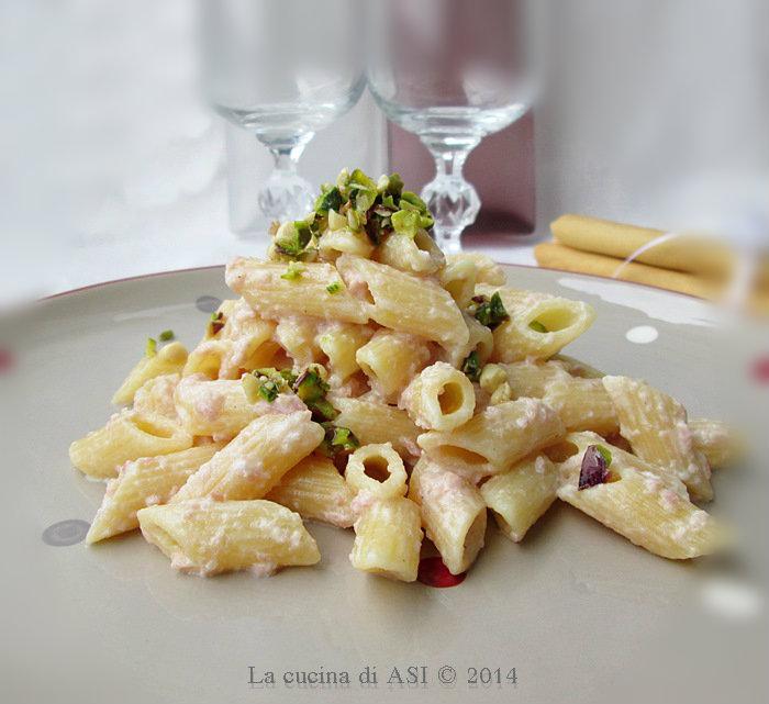 PENNETTE alla crema di prosciutto La cucina di ASI 2014