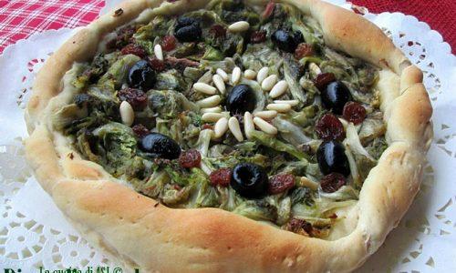 PIZZA DI SCAROLA Ricetta lievitato salato