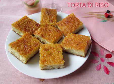 TORTA DI RISO Ricetta dolce regionale