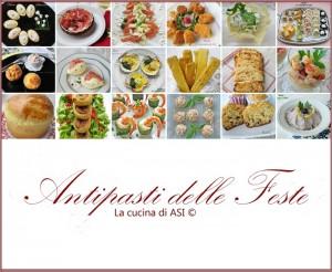 ANTIPASTI Delle feste La cucina di ASI ©