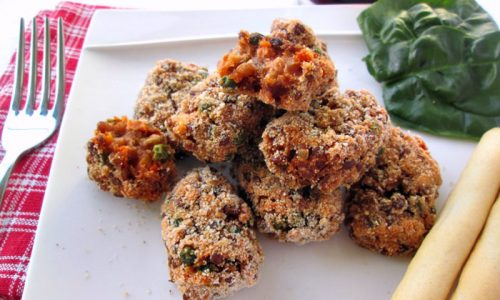 CROCCHETTE DI LENTICCHIE al forno Ricetta vegetariana