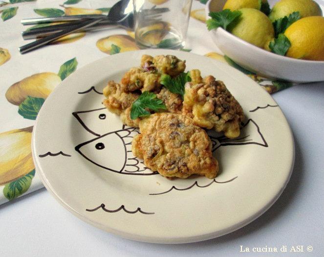 frittelle di ciuffi di calamari La cucina di ASI © 2014 dopo i picc