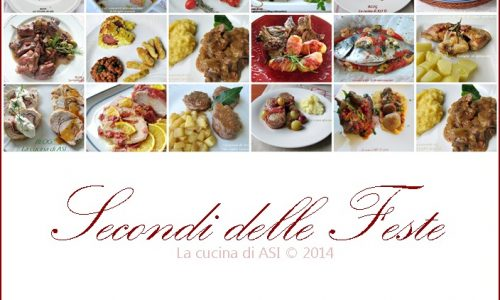 SECONDI DELLE FESTE Raccolta ricette