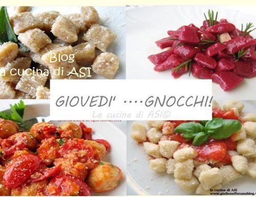 GIOVEDI' GNOCCHI  Raccolta ricette primi piatti