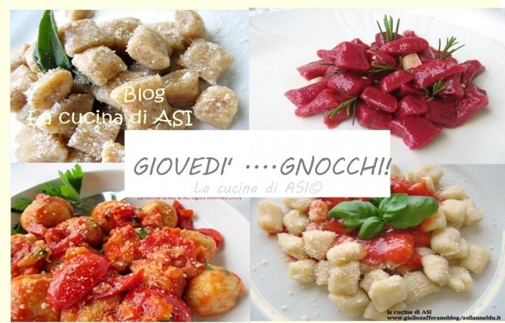 GIOVEDI'….GNOCCHI!!! Raccolta ricette primi piatti