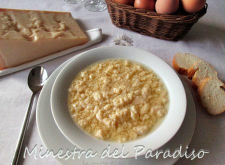 MINESTRA DEL PARADISO Ricetta primo  emiliano-romagnolo