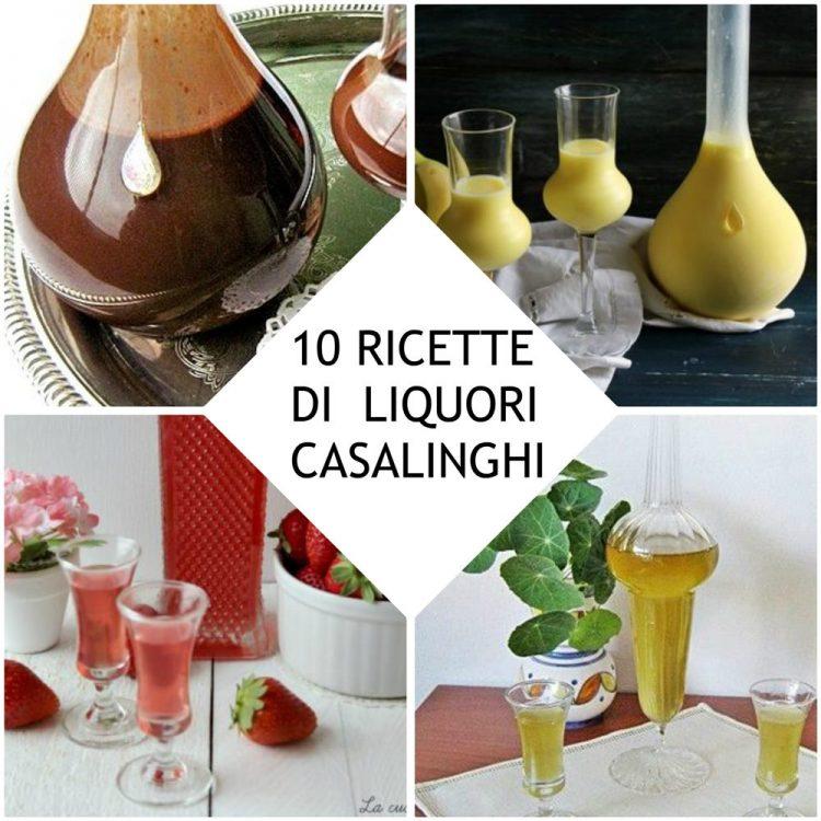 Liquori fatti in casa raccolta di ricette