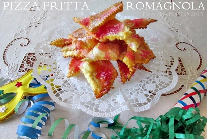 PIZZA FRITTA ROMAGNOLA Ricetta dolce regionale