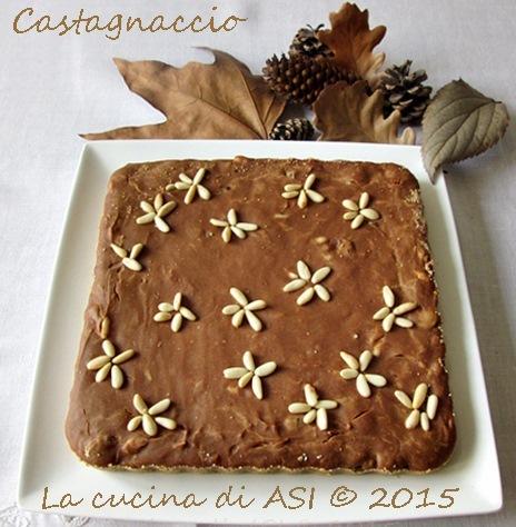 castagnaccio La cucina di ASI Annalisa Altini 2015