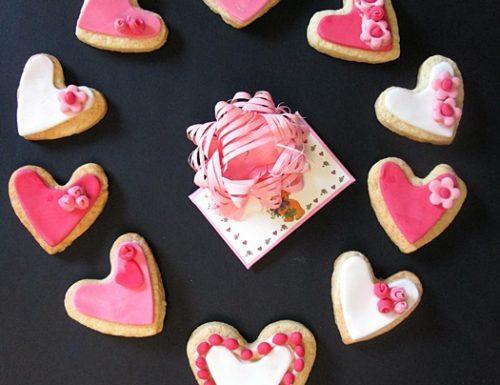 FROLLINI MON AMOUR Ricetta piccola pasticceria San Valentino