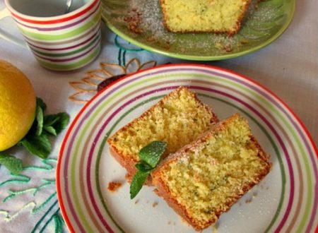 CAKE MENTA E LIMONE Ricetta dolce