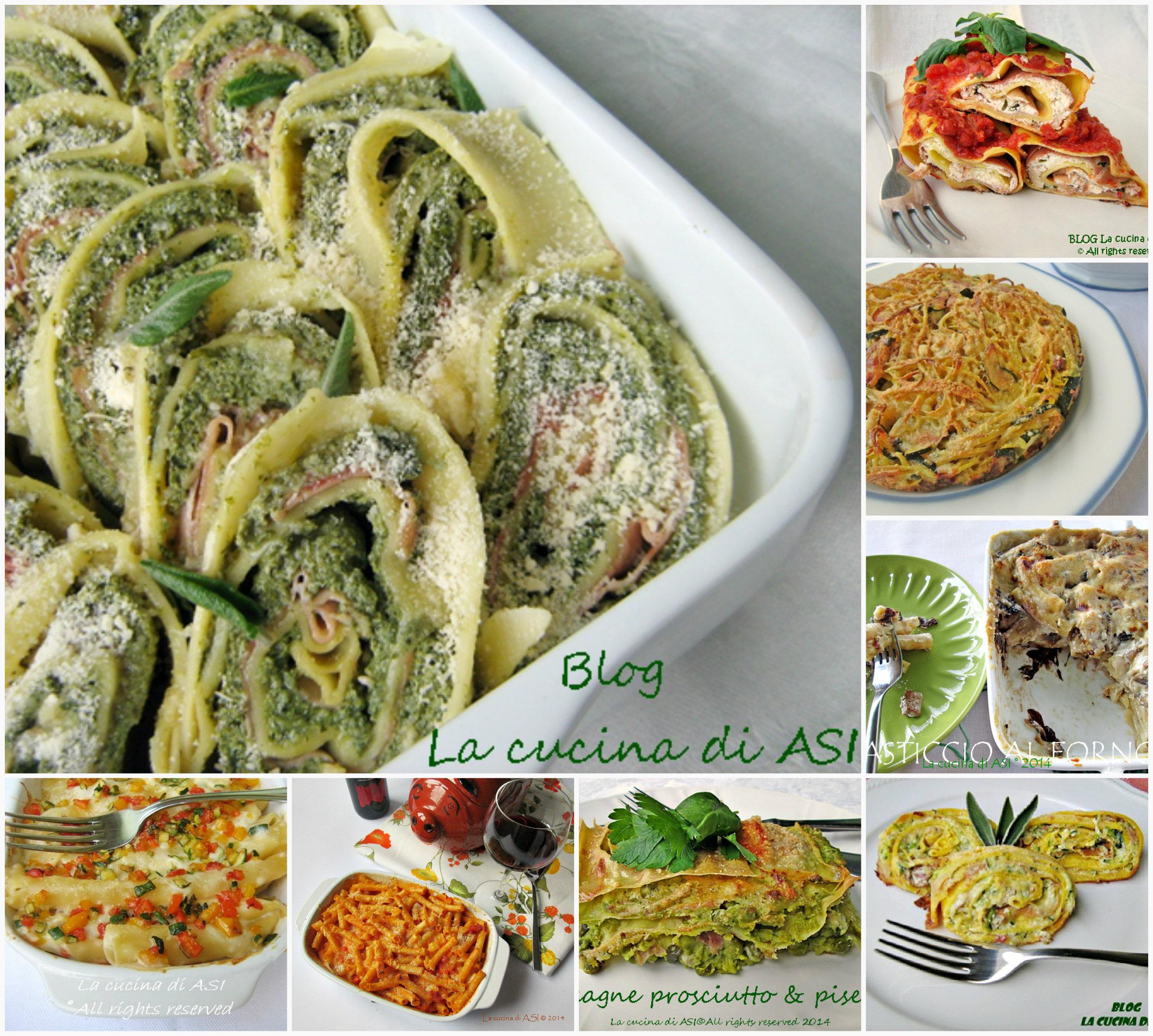 Primi al forno ricette preparazioni primi piatti al forno - Al ta cucina ricette ...
